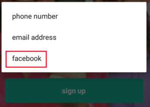 Musically Login with Facebook